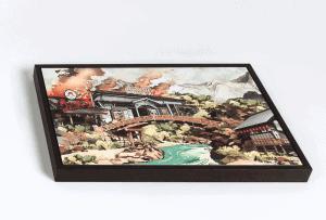 Handmade gallery frame