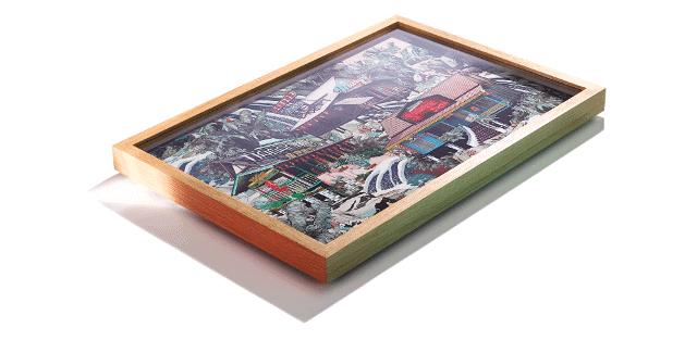 Handmade bespoke frame for fine art print