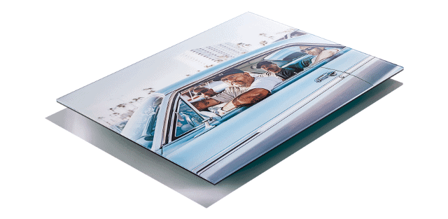 Acrylic reverse mounted c-type print